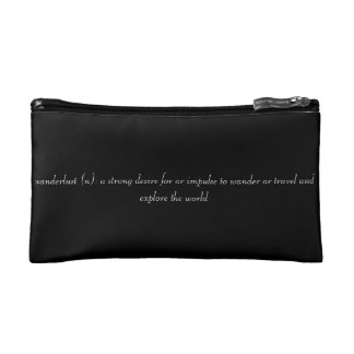 Wanderlust Cosmetic Bag