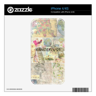 Wanderlust Decal For The iPhone 4S