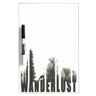 Wanderlust Dry-Erase Board