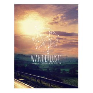 Wanderlust (hills): Postcard (vertical)