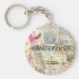 Wanderlust Keychain