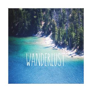 Wanderlust Lake Tahoe Canvas Print