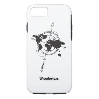 Wanderlust Map iPhone 8/7 Case