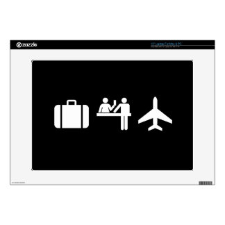 Wanderlust Pictogram Latop Skin Skins For Laptops