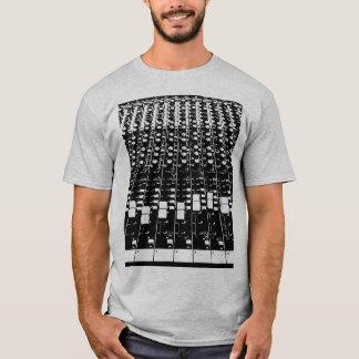 Wanderlust Sound Mix Board EDM Hipster Festival T-Shirt