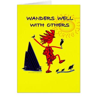 Wanders Well Card