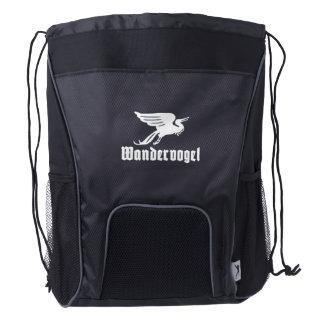 Wandervogel Black Back pack Drawstring Backpack