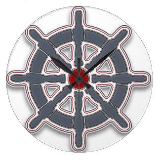 "Wanduhr ""Sea Breeze"" Wheel Var02 Reloj Redondo Grande"