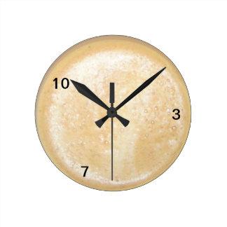 Wanduhr - tiempos de café reloj redondo mediano
