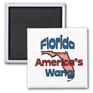 Wang de América del ~ del lema del estado de la Fl Iman De Frigorífico