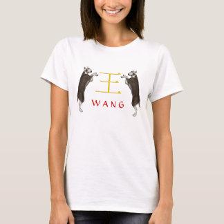 Wang Monogram Dog T-Shirt
