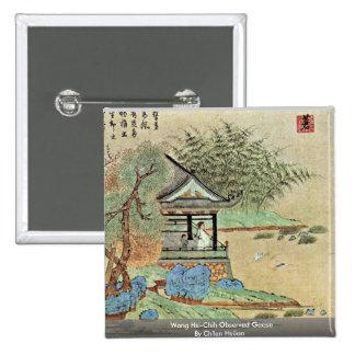 Wang Sus-Chih gansos observados de Ch'Ien Hsüan Pin