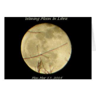 Waning Moon In Libra Card