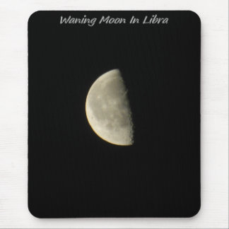 Waning Moon In Libra Mouse Pad