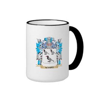 Wanke Coat of Arms - Family Crest Ringer Mug