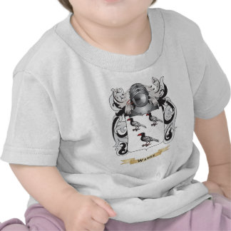 Wanke Family Crest (Coat of Arms) T Shirts