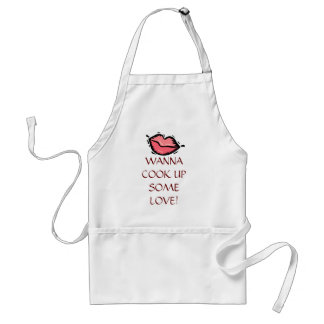 WANN COOK UP SOME LOVE APRON