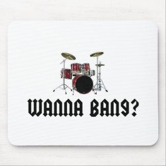 Wanna Bang? Mouse Pad