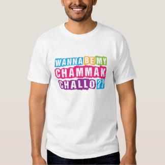 Wanna be my Chammak Challo? Beautiful flashy girl T-Shirt