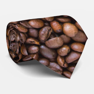 wanna delicious coffee? coffe beans neck tie