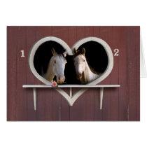 Wanna Horse Around? Card
