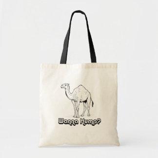 Wanna Hump - Budget Tote Bag