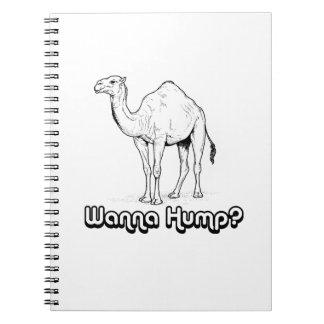 Wanna Hump - Note Book