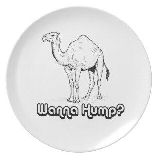 Wanna Hump - Plate