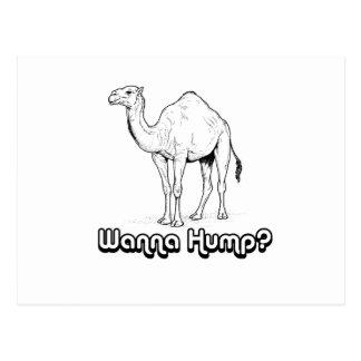 Wanna Hump - Postcard