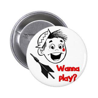 Wanna Play? Button