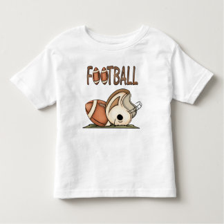 Wanna Play Football! Toddler Fun T-Shirt