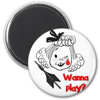 Wanna Play Jarts Magnets