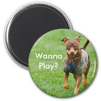 Wanna Play? Refrigerator Magnets