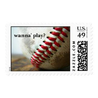 wanna' play? stamp