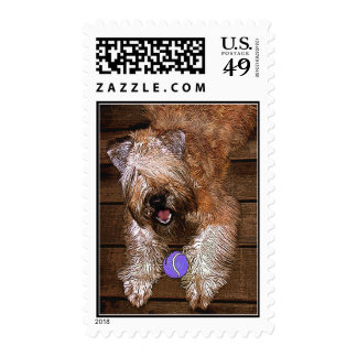 """""""Wanna Play?"""" Postage Stamps"""