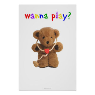 """Wanna Play?"" Poster"