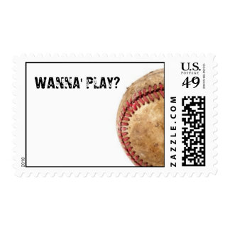 wanna' play stamp