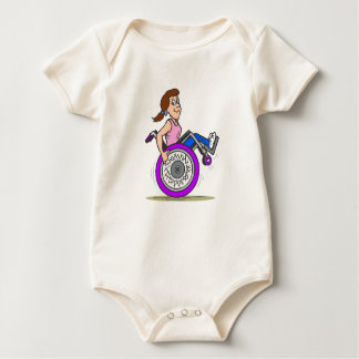 Wanna race baby bodysuit
