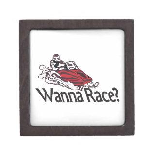 Wanna Race? Jewelry Box