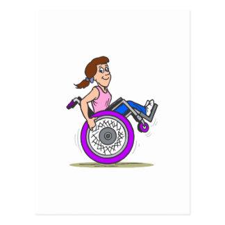 Wanna race postcard