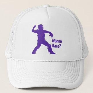 Wanna Race Trucker Hat