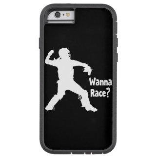 Wanna Race, white.png Tough Xtreme iPhone 6 Case