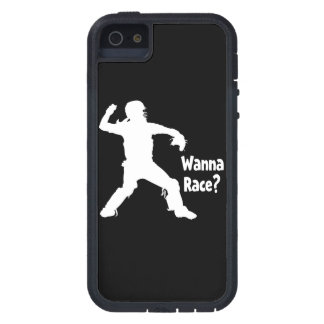 Wanna Race, white.png iPhone SE/5/5s Case