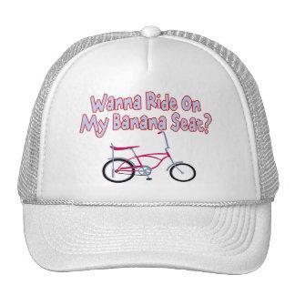 Wanna Ride On My Banana Seat Trucker Hat