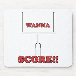 Wanna Score Mouse Pad