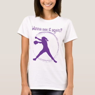 Wanna See It Again, purple T-Shirt
