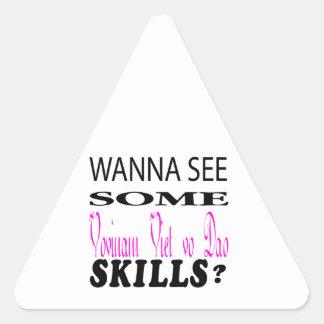 Wanna See Some Vovinam Viet vo Dao Skill Stickers