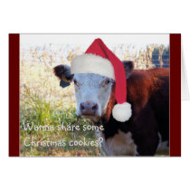 Wanna share some Christmas cookies? Card