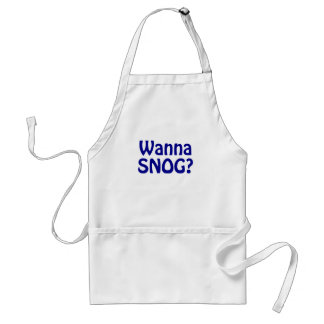 Wanna Snog Adult Apron