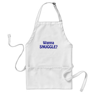 Wanna Snuggle Adult Apron